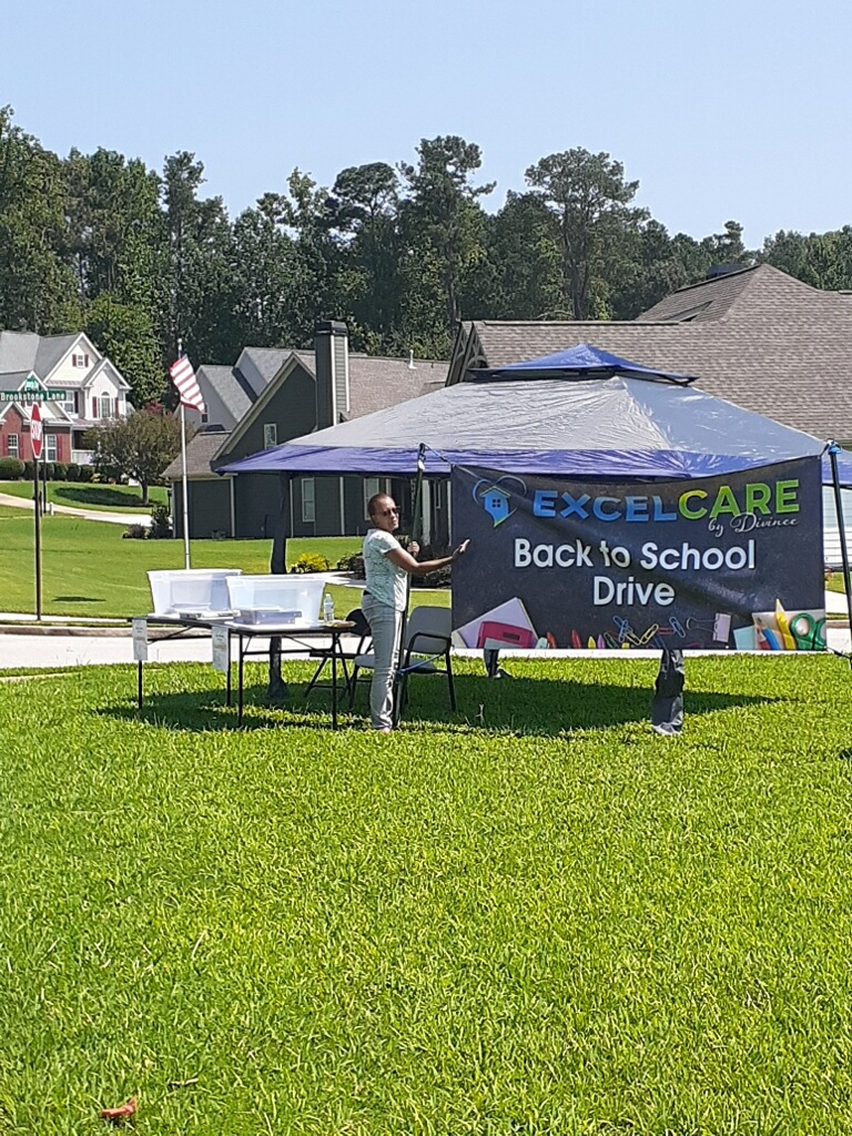 ExcelCare By Divinee's 1st Back to School Drive.